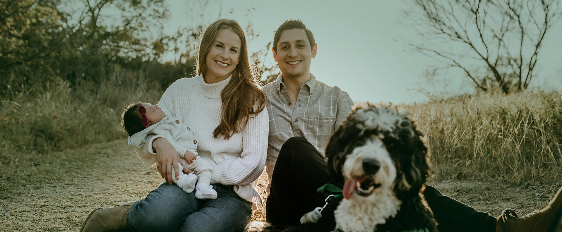 Dr. Christopher Naranjo and his family portrait